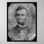 Daguerréotype 1864 du Président Abraham Lincoln Affiches