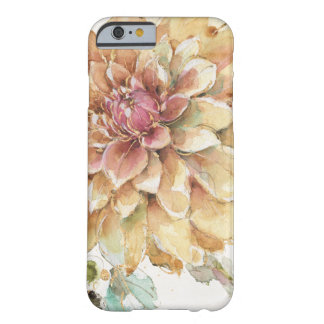 Dahlia orange coque barely there iPhone 6