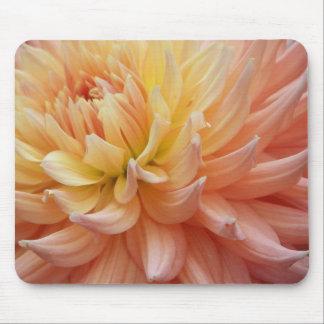 Dahlia rougeoyant floral tapis de souris