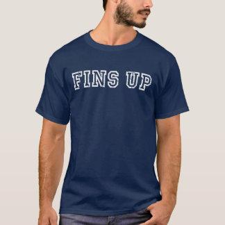 D'AILERONS T-shirt affligé -