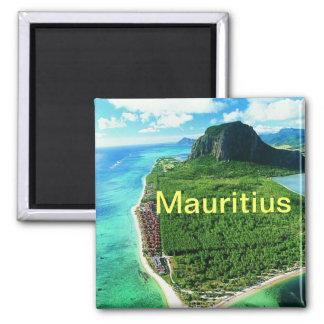 ` D'aimant des Îles Maurice Magnet Carré