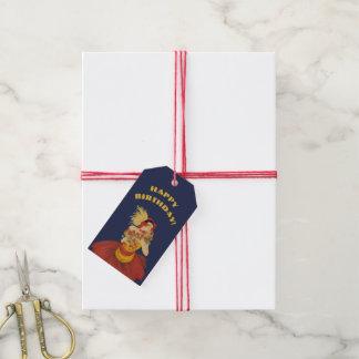 d'Aix de vedette de La : Étiquettes de cadeau de