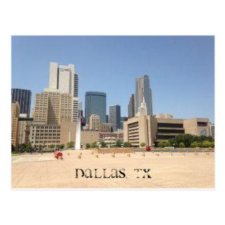 """""""DALLAS, CARTE POSTALE DE TX"""""""
