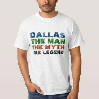 Dallas l'homme, le mythe, la légende t-shirt