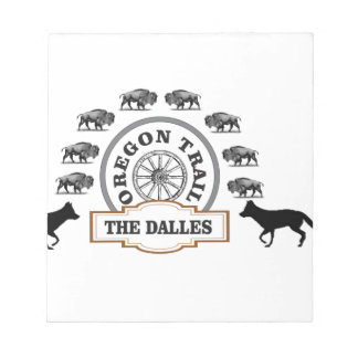 dalles de bison de renard bloc-note