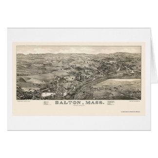 Dalton, carte panoramique de mA - 1884