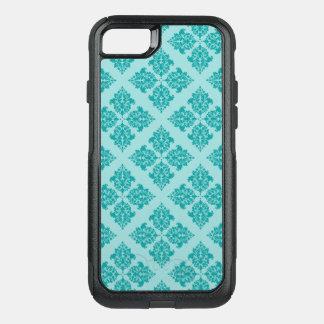 Damassé de Marocain d'Aqua Coque OtterBox Commuter iPhone 8/7