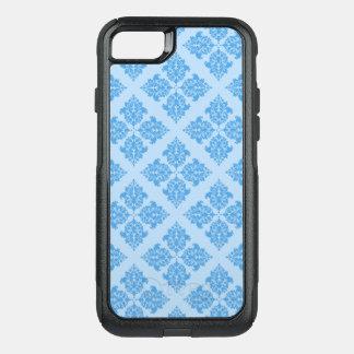 Damassé de Marocain de bleu de ciel Coque OtterBox Commuter iPhone 8/7
