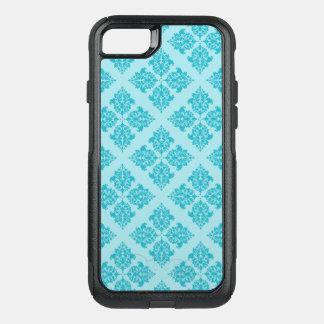 Damassé de Marocain de turquoise Coque OtterBox Commuter iPhone 8/7