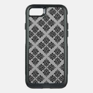 Damassé marocaine noire coque OtterBox commuter iPhone 8/7