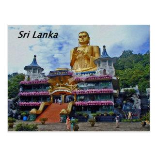 dambulla-caverne-temple-sri-lanka Angie Carte Postale