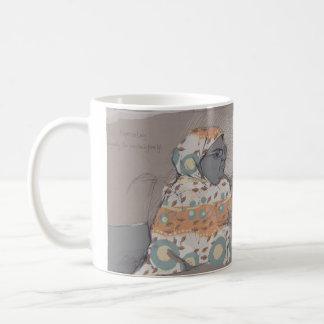 Dame de café express mug
