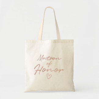 Dame de honneur - sac fourre-tout rose à aluminium