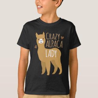 Dame folle d'alpaga t-shirt