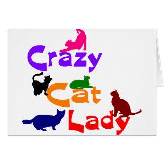 DAME FOLLE DE CAT CARTES