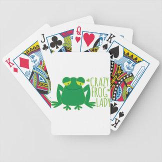 dame folle de grenouille jeu de poker