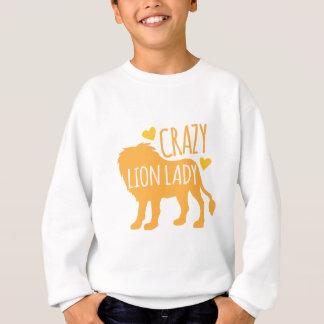 dame folle de lion sweatshirt