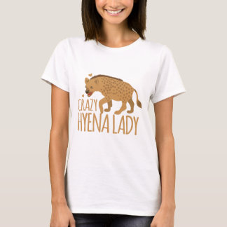 dame folle d'hyène t-shirt