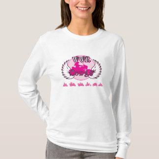 Dames de Conga de WWR - longue douille de Hoody T-shirt
