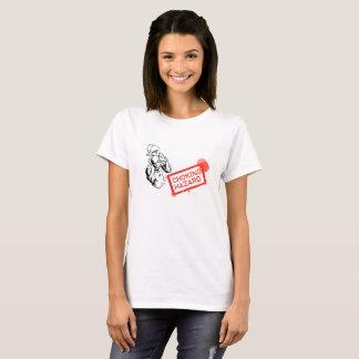 Dames de risque d'obstruction t-shirt