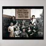 Dames d'interdiction affiche