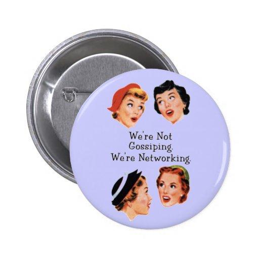 Dames drôles drôles badges avec agrafe