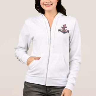 Dames Hoodie sweat-shirt «Sea Breeze» Anchor Veste À Capuche