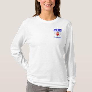 Dames long Sleave de Douglas de clan T-shirt