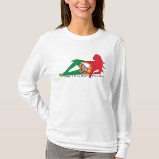 Dames Portugal hoody soutenu de cette façon T-shirt