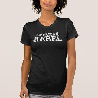 Dames rebelles Twofer d'Américain T-shirt