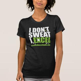 Dames T de studio de santé d'Excel T-shirt