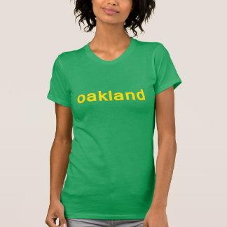 Dames t d'Oakland la Californie T-shirt
