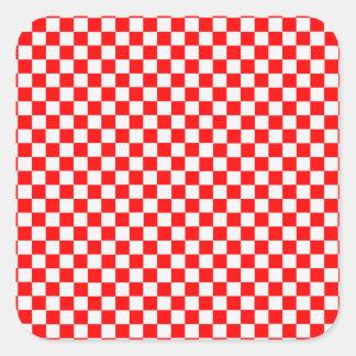 Cadeaux damier rouge et blanc t shirts art id es for Carrelage damier rouge et blanc