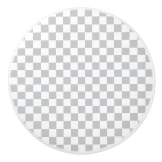 Damier gris-clair