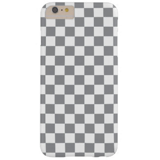 Damier gris coque iPhone 6 plus barely there