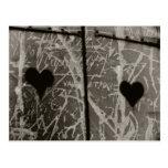 D'amour de Lettres Carte Postale
