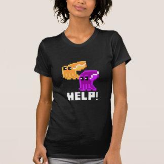 """Danger """"aide de seiches !"""" Le T-shirt des femmes"""