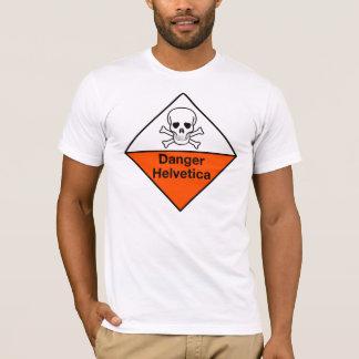 Danger : Chemise helvetica T-shirt