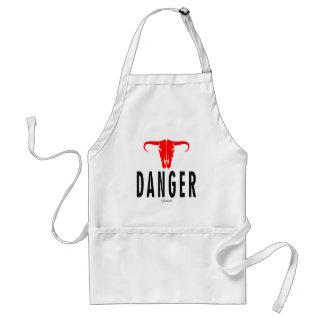 Danger et Taureau par Vimago Tablier