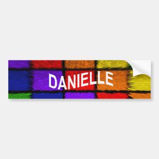 DANIELLE AUTOCOLLANT DE VOITURE