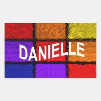 DANIELLE STICKER RECTANGULAIRE