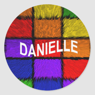 DANIELLE STICKER ROND