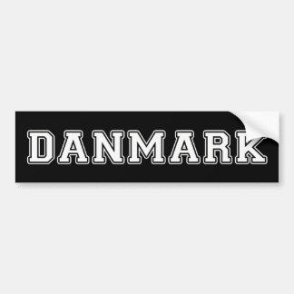 Danmark Autocollant De Voiture