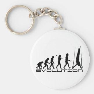 D'anneaux toujours art d'évolution de sport de gym porte-clés