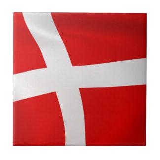Dannebrog - le drapeau danois carreau