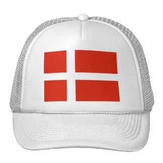 Dannebrog ; Le drapeau officiel du Danemark Casquette Trucker