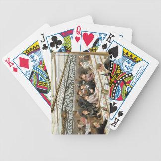Dans la baie, temps de dîner - une bosse occidenta cartes à jouer