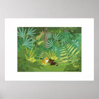 Dans la jungle poster