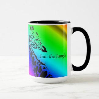 Dans la tasse de café de ~ de jungle (girafe)