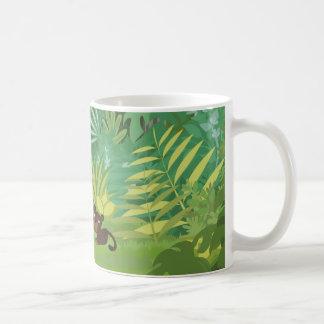 Dans la tasse de jungle